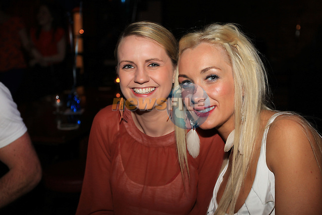 Miranda Hodgins and Siobhan McArdle.in McHughs.Picture Fran Caffrey www.newsfile.ie..