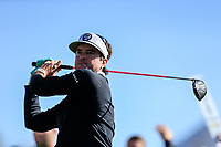 Bubba Watson (USA) on the 3rd tee during the 2nd round of the Waste Management Phoenix Open, TPC Scottsdale, Scottsdale, Arisona, USA. 01/02/2019.<br /> Picture Fran Caffrey / Golffile.ie<br /> <br /> All photo usage must carry mandatory copyright credit (© Golffile | Fran Caffrey)