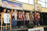 Chor der 6. Klasse tritt auf