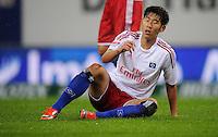USSBALL   1. BUNDESLIGA    SAISON 2012/2013    10. Spieltag   Hamburger SV - FC Bayern Muenchen                    03.11.2012 Heung Min Son (Hamburger SV)