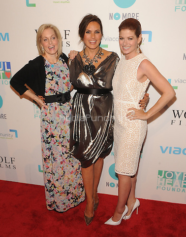 New York,NY-May 29: Ali Wentworth,Mariska Hargitay and Debra Messing Attends Mariska Hargitayís Joyful Heart Foundation 10th anniversary  in New York City on May 29, 2014. Credit: John Palmer/MediaPunch