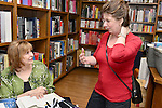 CORAL GABLES, FL - MARCH 30: Author Jacquelyn Mitchard greets fans and signs copies of her new book 'Two If By Sea' at Books and Books on Wednesday March 30, 2016 in Coral Gables, Florida. ( Photo by Johnny Louis / jlnphotography.com )