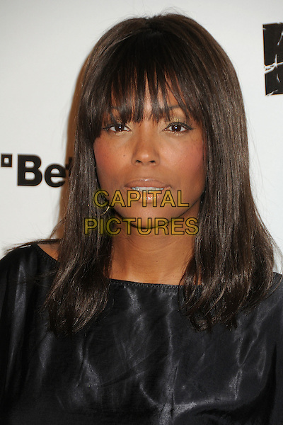 """Aisha Tyler.""""Rage"""" Video Game Launch Party held in Chinatown's Historical Central Plaza, Los Angeles, California, .30th September 2011..portrait headshot black fringe .CAP/ADM/BP.©Byron Purvis/AdMedia/Capital Pictures."""