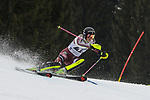 10.03.2018, Ofterschwanger Horn, Ofterschwang, GER, Slalom Weltcup in Ofterschwang, im Bild Emelie Wikstroem (SWE, #18)<br /> <br /> Foto &copy; nordphoto / Hafner