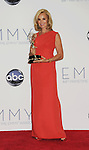 LOS ANGELES, CA - SEPTEMBER 23: Jessica Lange poses in the press room at the 64th Primetime Emmy Awards held at Nokia Theatre L.A. Live on September 23, 2012 in Los Angeles, California.