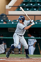 Kyeong Kang (23) of the Charlotte Stone Crabs during a game vs. the Lakeland Flying Tigers May 11 2010 at Joker Marchant Stadium in Lakeland, Florida. Charlotte won the game against Lakeland by the score of 3-0.  Photo By Scott Jontes/Four Seam Images
