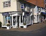 Contemporary art gallery and shop, Aldeburgh, Suffolk, England