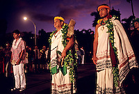 "observance of 100th anniversary of overthrow of the Hawaiian monarchy/""Onipa'a;"" Iolani Palace, Honolulu, Hawaii.1-17-93"