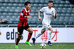 Hwang Kiwook of FC Seoul (l) in action during the 2017 Lunar New Year Cup match between Auckland City FC (NZL) vs FC Seoul (KOR) on January 28, 2017 in Hong Kong, Hong Kong. Photo by Marcio Rodrigo Machado/Power Sport Images