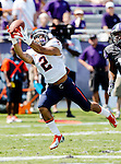Virginia Cavaliers wide receiver Dominique Terrell (2) in action during the game between the Virginia Cavaliers and the TCU Horned Frogs  at the Amon G. Carter Stadium in Fort Worth, Texas. TCU defeats Virginia 27 to 7...
