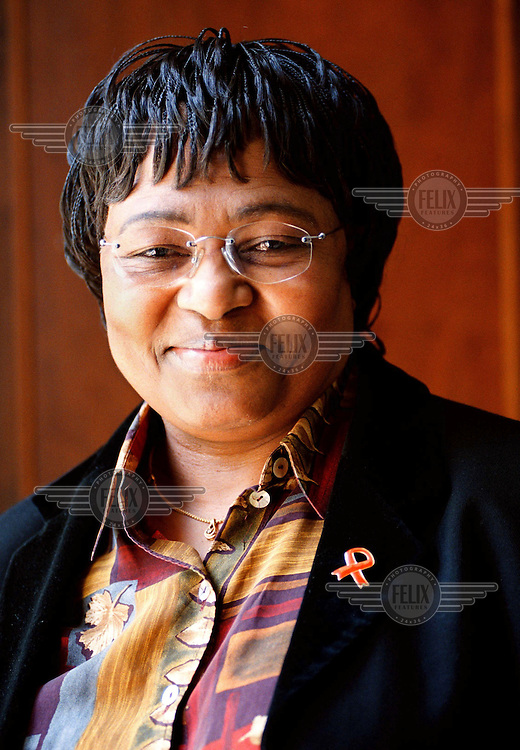 Manto Tshabalala Msimang, Health Minister from 1999-2008.