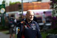 13th March 2020; Melbourne Grand Prix Circuit, Melbourne, Victoria, Australia; Formula One, Australian Grand Prix, Practice Day; Red Bull chief technical officer Adrian Newey