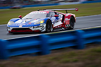 26-29 January, 2017, Daytona Beach, Florida USA<br /> 66, Ford, Ford GT, GTLM, Joey Hand, Dirk Muller, Sebastien Bourdais<br /> ©2017, Barry Cantrell<br /> LAT Photo USA
