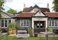 Greene King, the UK's leading managed pub company and brewer, with 1700 managed pubs, has unveiled details of how its pubs will look and operate ahead of them re-opening, including 'Pub Safe', a new set of five promises to its team and customers.<br /> All Greene King's pubs will follow a new set of Pub Safe promises, designed to look after team members and ensure customers can socialise safely. The Pub Safe Promises scheme centres around hygiene and safety, while maintaining the atmosphere of the Great British pub. Signage and layouts at 3 pubs Saturday June 27th 2020<br /> <br /> Photo by Keith Mayhew
