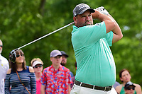 Brendon de Jonge (ZWE) watches his tee shot on 11 during round 3 of the Shell Houston Open, Golf Club of Houston, Houston, Texas, USA. 4/1/2017.<br /> Picture: Golffile | Ken Murray<br /> <br /> <br /> All photo usage must carry mandatory copyright credit (&copy; Golffile | Ken Murray)