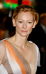 "WESTWOOD, CA. - December 08: Actress Tilda Swinton arrives at the Los Angeles premiere of ""The Curious Case Of Benjamin Button"" at the Mann's Village Theater on December 8, 2008 in Los Angeles, California."