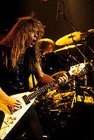 FILE - Metallica<br />  , circa 1985<br /> <br /> Photo : Harold Beaulieu<br />   - Agence Quebec Presse
