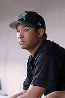 August 30, 2003:  Edduar Jumelles of the Dayton Dragons during a game at Fifth Third Field in Dayton, Ohio.  Photo by:  Mike Janes/Four Seam Images