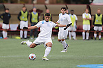 SALEM, VA - DECEMBER 3:Daniel Sullivan (11) of Tufts University passes the ball upfield during theDivision III Men's Soccer Championship held at Kerr Stadium on December 3, 2016 in Salem, Virginia. Tufts defeated Calvin 1-0 for the national title. (Photo by Kelsey Grant/NCAA Photos)