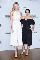 Karlie Kloss and Carolina Herrera<br /> at the Carolina Herrera Good Girl fragrance launch, No.1 Horse Guards, London<br /> <br /> <br /> ©Ash Knotek  D3372  25/01/2018