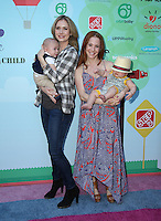 CULVER CITY, CA - SEPTEMBER 24: Ashley Jones, Hayden Joel Henricks, Amy Davidson, Lennox Sawyer Lockwood  attends the Step2 & Favored.by Present The 5th Annual Red Carpet Safety Awareness Event at Sony Pictures Studios on September 24, 2016 in Culver City, California. (Credit: Parisa Afsahi/MediaPunch).