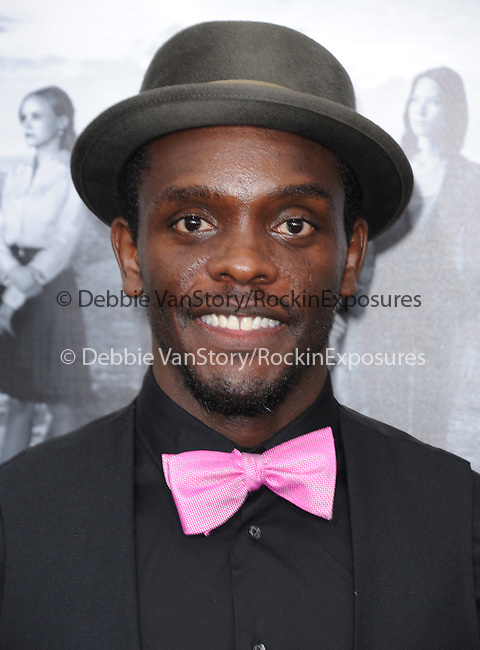 Chris Chalk at The Season 2 Premiere of The HBO Series The Newsroom held at Paramount Studios in Los Angeles, California on July 10,2013                                                                   Copyright 2013 Hollywood Press Agency