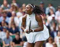 London, England, 28 june, 2016, Tennis, Wimbledon, Serena Williams (USA)<br /> Photo: Henk Koster/tennisimages.com