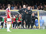 Sheffield United's Chris Wilder in action during the League One match at the Kingsmeadow Stadium, London. Picture date: September 10th, 2016. Pic David Klein/Sportimage