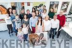 Tracy Sexton with her friends and family at the opening of her new gallery the The Art House in Killarney on Saturday