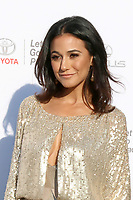 LOS ANGELES - SEP 23:  Emmanuelle Chriqui at the 27th Environmental Media Awards at the Barker Hangaer on September 23, 2017 in Santa Monica, CA