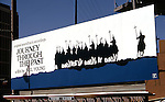 Neil Young Journey Through the Past film billboard on the Sunset Strip