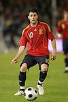 04 June 2008: Cesc Fabregas (ESP). The Spain Men's National Team defeated the United States Men's National Team 1-0 at Estadio Municipal El Sardinero in Santander, Spain in an international friendly soccer match.