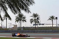 3rd December 2019; Yas Marina Circuit, Abu Dhabi, United Arab Emirates; Pirelli Formula 1 tyre testing sessions; McLaren, Lando Norris