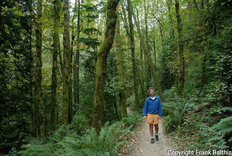 Forest Park in Portland, David Briggs