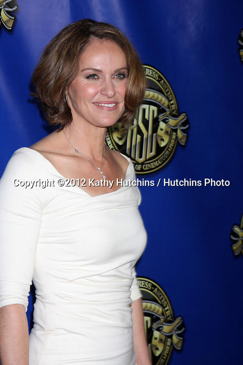 LOS ANGELES - FEB 12:  Amy Brenneman at the Press Area of the 2012 American Society of Cinematographers Awards at the Grand Ballroom, Hollywood & Highland on February 12, 2012 in Los Angeles, CA