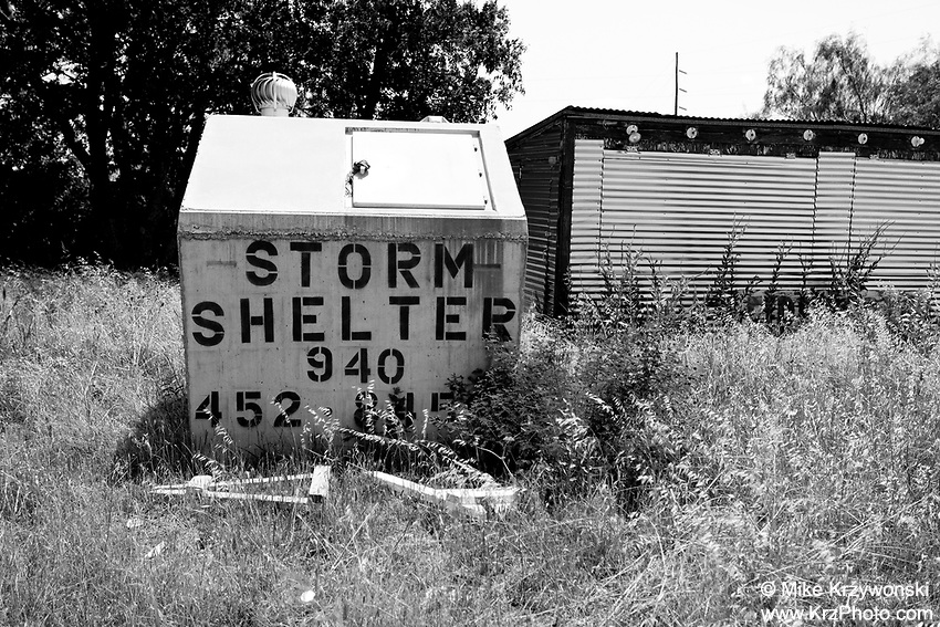 Tornado Storm Shelter in Mineral Wells, TX