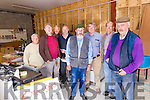 Members of Kenmare Mens Shed who are appealing for a new home in the town after they had to vacant their current base. <br /> l-r Keith Farren, Andrew Garrett, Dave Farrell, Jerry Sheehan, Michael J Teahan, Robert Tangney, Jean Pierre Teroy and Patsy  Breen.