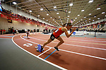 NAPERVILLE, IL - MARCH 11: Chelsea Gilles of Greenville College comes out of the blocks in the women's 400 meter dash at the Division III Men's and Women's Indoor Track and Field Championship held at the Res/Rec Center on the North Central College campus on March 11, 2017 in Naperville, Illinois. (Photo by Steve Woltmann/NCAA Photos via Getty Images)