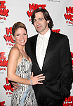 Kelli OHara and Greg Naughton.attending the Broadway Opening Night After Party for  'Nice Work If You Can Get It' at the Mariott Marquis  on 4/24/2012 in New York City.