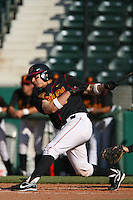 March 16 2009: Hector Rabago of the USC Trojans during game against the Winthrop Eagles at Dedeaux Field in Los Angeles,CA.  Photo by Larry Goren/Four Seam Images