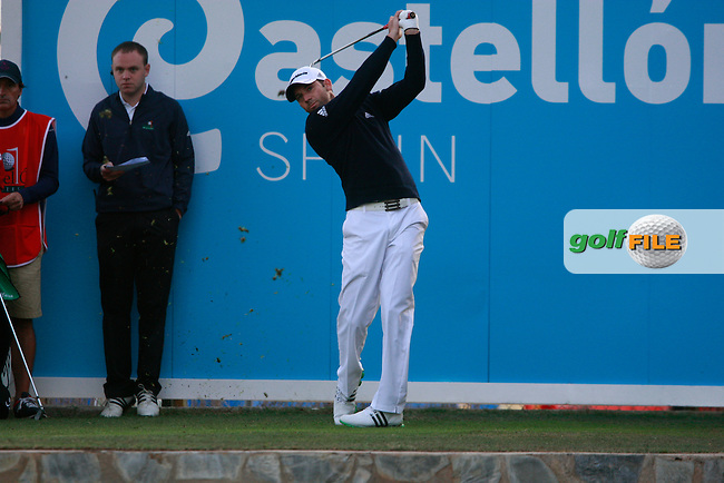 Sergio Garcia (ESP) tees off on the 10th tee to start his match during Thursday's Round 1 of the Castello Masters at the Club de Campo del Mediterraneo, Castellon, Spain, 20th October 2011 (Photo Eoin Clarke/www.golffile.ie)