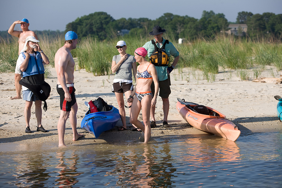 Slug:  Potomac Swim.Date: 06-05- 2010 .Photographer: Mark Finkenstaedt.Location: Point Lookout State park - The Potomac..Caption:  2010 Potomac Swim for the Environment.....© 2010 Mark Finkenstaedt. All Rights Reserved. personal use and use for the Potomac Swim for the Environment.. For additional use call the photographer.2022582613.mark@mfpix.com