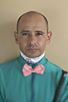 SANTA ANITA, CA- MARCH 31:  John Smith <br /> poses for a portrait during the Jockey's II Portrait Shoot at the Santa Anita Race Track on March 31, 2009 in Santa Anita, California. (Photo by Donald Miralle for Discovery Communications)