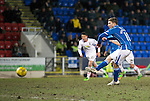 St Johnstone v Inverness Caley Thistle&hellip;09.03.16  SPFL McDiarmid Park, Perth<br />David Wotherspoon misses form the penalty spot<br />Picture by Graeme Hart.<br />Copyright Perthshire Picture Agency<br />Tel: 01738 623350  Mobile: 07990 594431