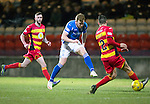 Partick Thistle v St Johnstone&hellip;23.02.16   SPFL   Firhill, Glasgow<br />Liam Craig shoots for goal<br />Picture by Graeme Hart.<br />Copyright Perthshire Picture Agency<br />Tel: 01738 623350  Mobile: 07990 594431