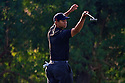Tiger Woods (USA ) reacts to missing a birdie putt on the 3rd green during the 1st round of the Dubai Desert Classic, Emirates GC, Dubai, United Arab Emirates / 31 Jan - 03 Feb 2008. .Picture Credit / Phil Inglis