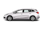 Car Driver side profile view of a 2016 KIA Ceed_SW 5 Door Wagon Side View