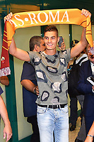 New AS Roma player Patrick Schick arrives at Fiumicino Airport <br /> Campionato Italiano Calcio Serie A 2017/2018<br /> Roma 29-08-2017 <br /> Foto Gino Mancini/Insidefoto