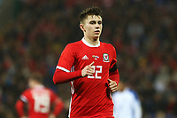 Ben Woodburn of Wales during the International Friendly match between Wales and Panama at The Cardiff City Stadium, Wales, UK. Tuesday 14 November 2017