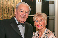 Seamus and Angela Smith during the Golfing Union of Ireland Champions Dinner at Carton House, Maynooth, Co. Kildare. 01/02/2019<br /> Picture: Golffile | Thos Caffrey<br /> <br /> <br /> All photo usage must carry mandatory copyright credit (&copy; Golffile | Thos Caffrey)
